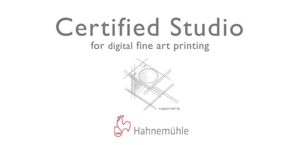 Hahnemüehle Certification No.: 026625.