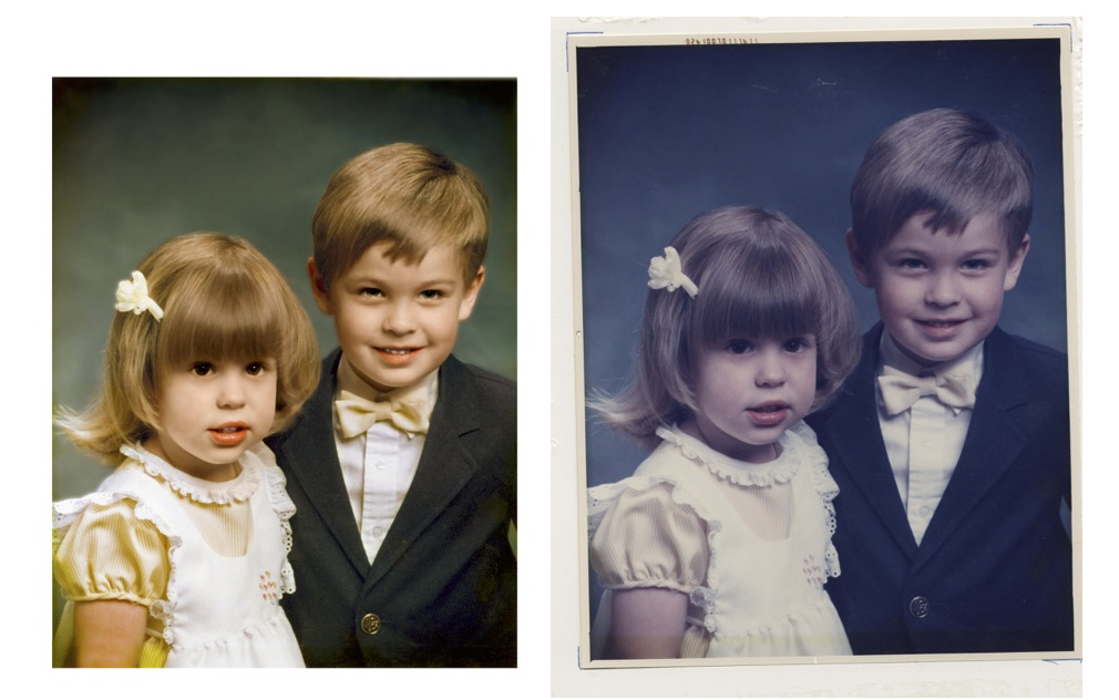 Once restored, our reprints will last for generations to come! Fade resistant inks on fine art photo paper.