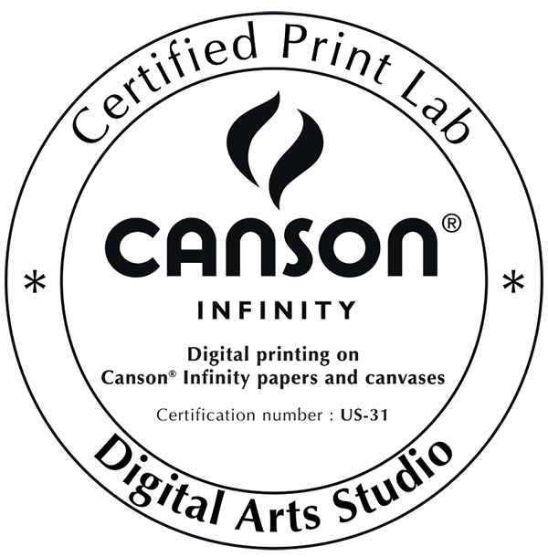 Canson Infinity Certified Print Lab Seal